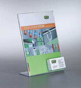 Truvu L Ständer Din A4 Mit Box Für Visitenkarten Jegab